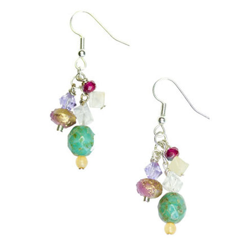 Sea Spray Drop Earrings