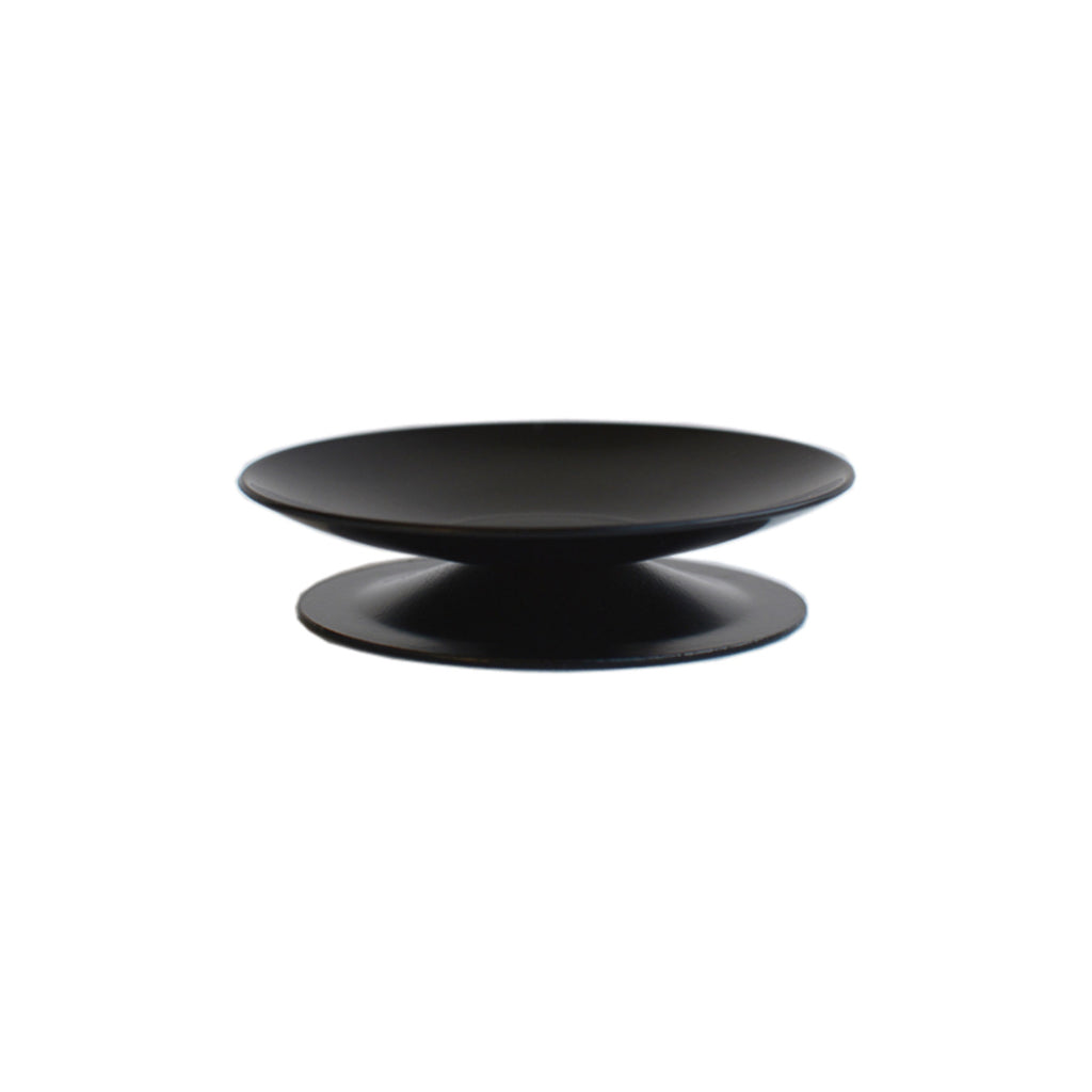 Pillar Candle Holder Black