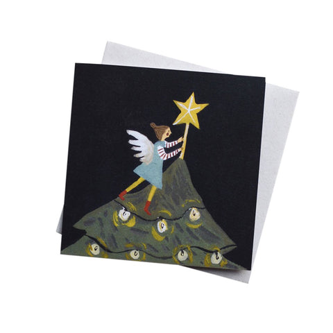 Star Fairy Christmas Card
