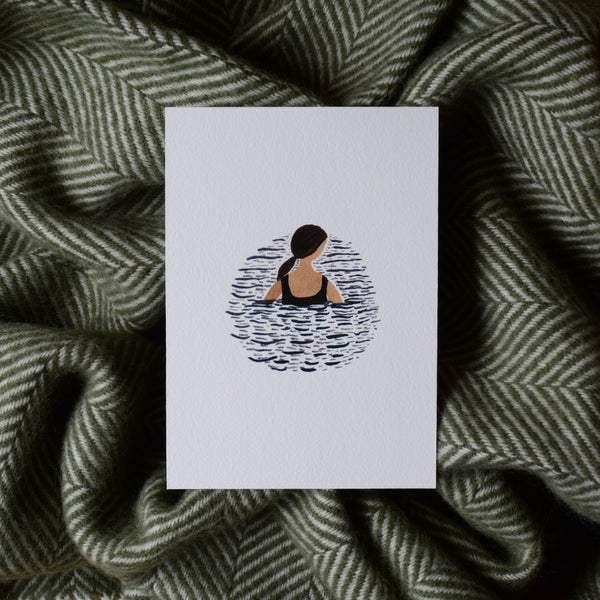 One In The Sea Print