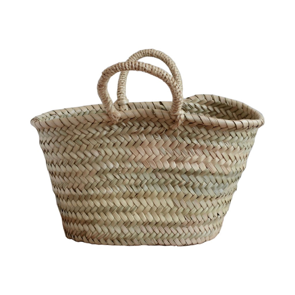 Handwoven Palm Basket Small