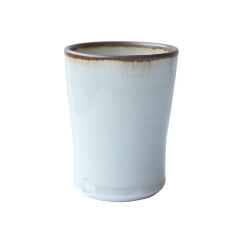 Porcelain Coffee Beaker White