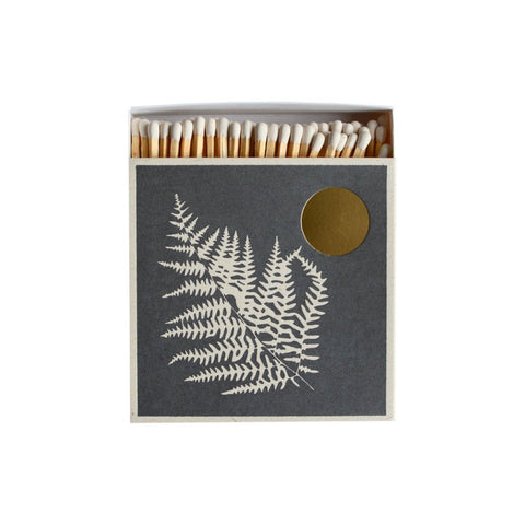Luxury Matches Fern Leaf