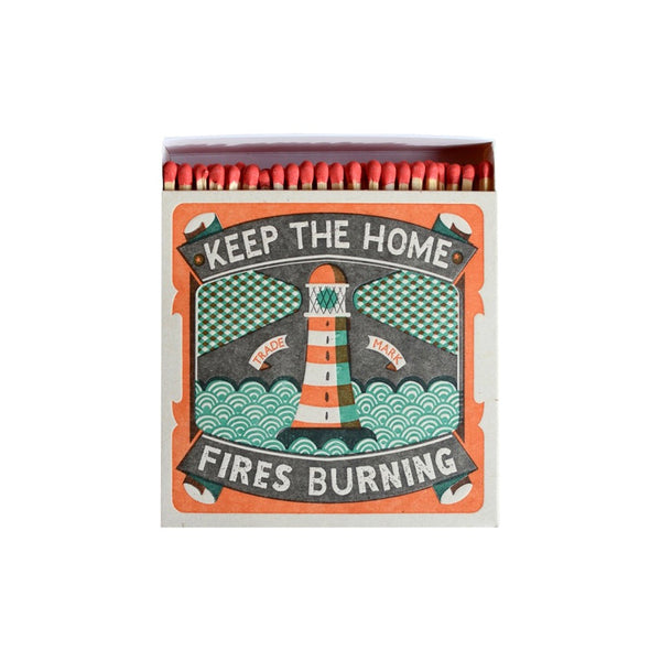 Luxury Matches Home Fires Burning