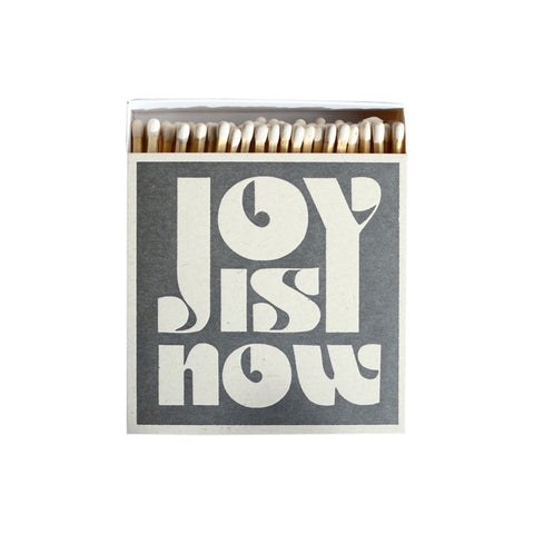 Luxury Matches Joy Is Now