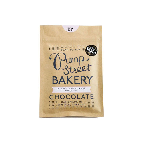 Pump Street Bakery Chocolate - Madagascar Milk 58%