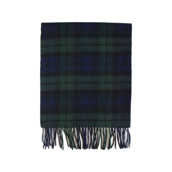 British Lambswool Scarf Blackwatch