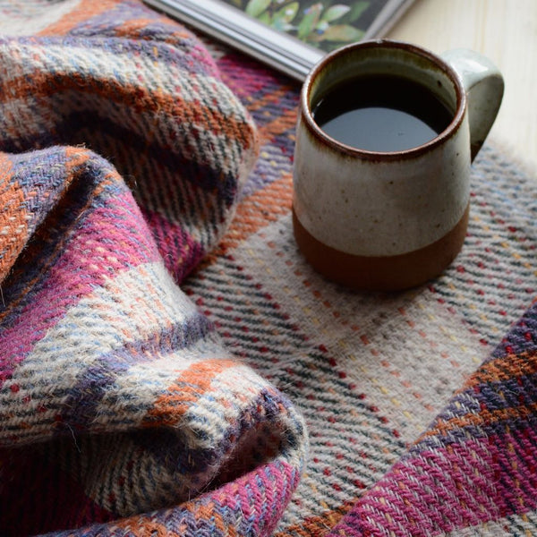 British Recycled Wool Throw