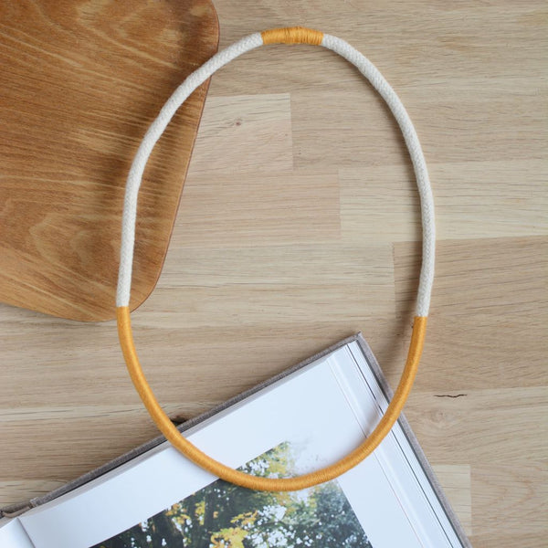 Rope Necklace Mustard