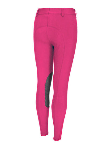 Pikeur Brooklyn Grip Children's Breeches Magenta