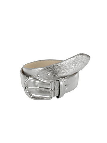 Pikeur Prime Collection Silver Metallic Belt