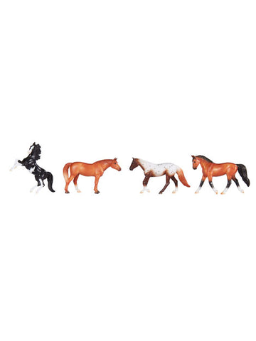 Breyer Stablemates Play Horses