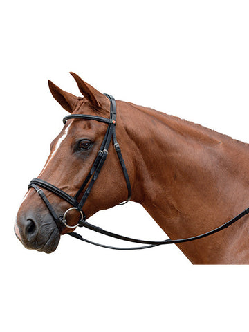 Albion KB Super Snaffle Flash Bridle