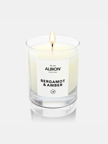 Albion Luxury Candle - Bergamot and Amber