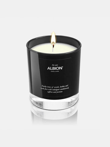 Albion Luxury Candle - Leather and Cashmere