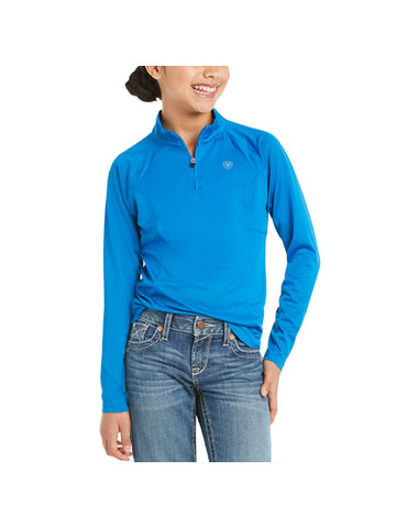 Ariat Kids Sunstopper Top - Imperial Blue