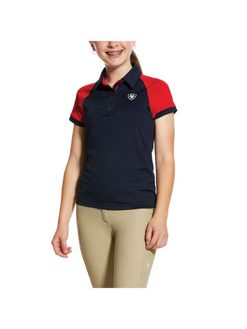 Ariat Girls' Team Polo
