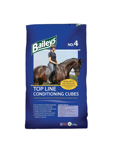 Baileys No 4 Top Line Conditioning Cubes
