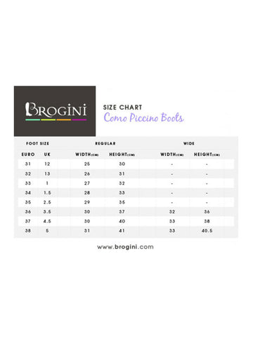 Brogini Como Piccino Long Competition Boot for Children