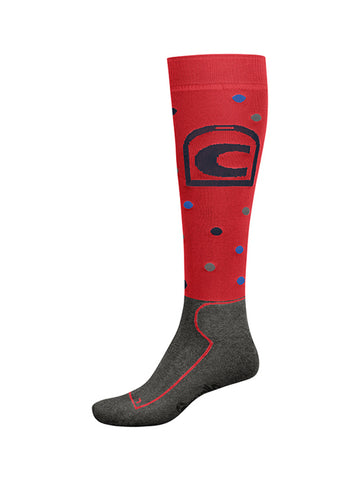 Cavallo Polka Dot Long Riding Socks