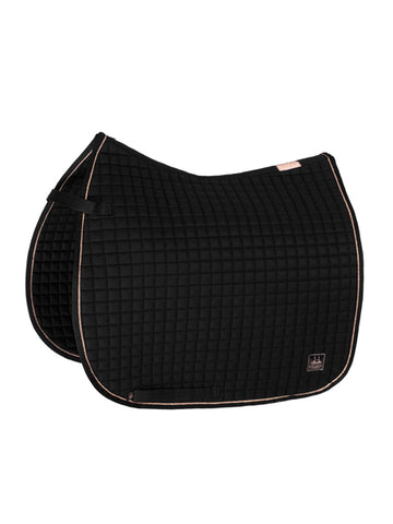 Eskadron Heritage Collection Cotton Saddle Pad - Black