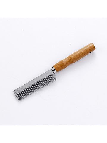 Aluminium Tail Comb with Handle