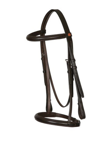 Jeffries Falcon Raised & Padded Cavesson Bridle