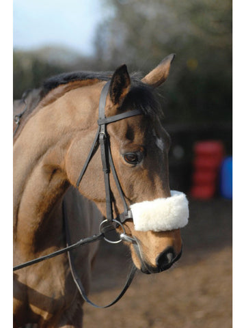Griffin Wool Noseband Cover