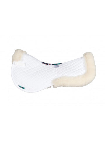Griffin HiWither Wool Half Pad With Collars