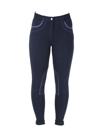 Thorpe Diamante Ladies Jodhpurs