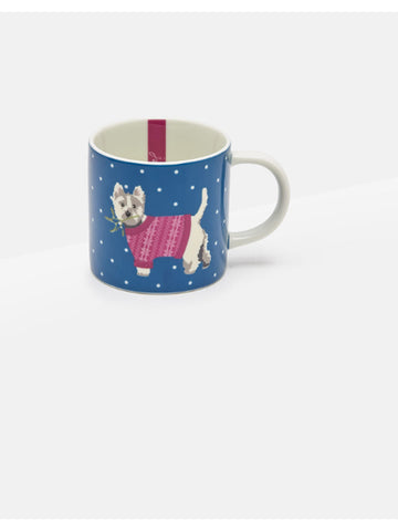 Westie Dog Christmas Cuppa Tea Cup by Joules