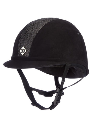 Charles Owen Sparkly YR8 Riding Hat