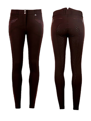 Montar Aba Crystal Grip Seat Breeches