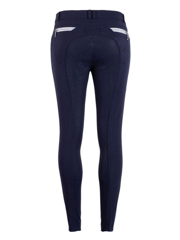 Montar Nova Full Grip Seat Breeches - Navy