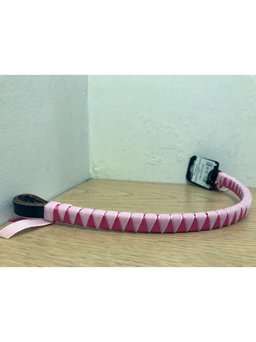 Showquest Pale Pink and Cerise Coloured Browband
