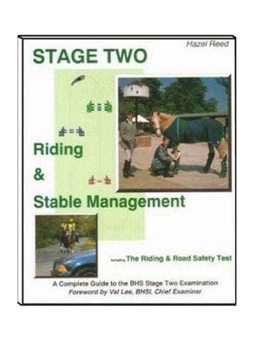 Stage Two Riding & Stable Management - Hazel Reed