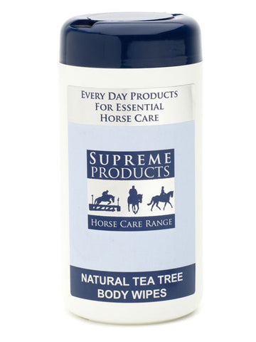 Supreme Products Horse Care Natural Tea Tree Body Wipes