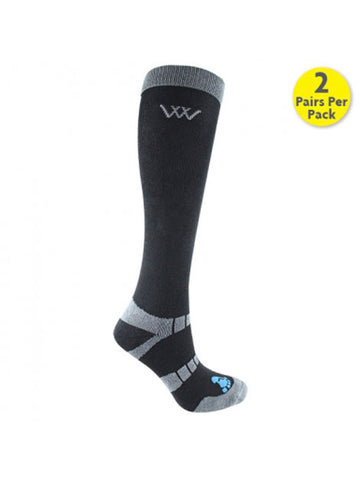 Woof Wear Bamboo Long Riding Socks