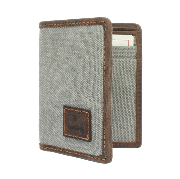 Mala CACTUS Collection Compact Canvas Wallet With RFID Protection 633_81