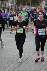 First Marathon - Dublin, October 2012 - think we were in shock!