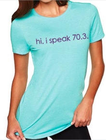 I Speak 70.3 Graphic T-Shirt