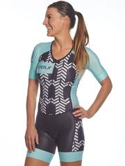 Blue Arrow One Piece Triathlon Suit