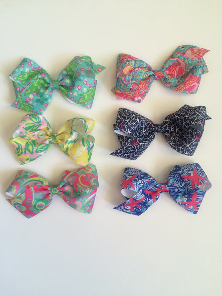 Lilly Pulitzer Hairbows Size Large