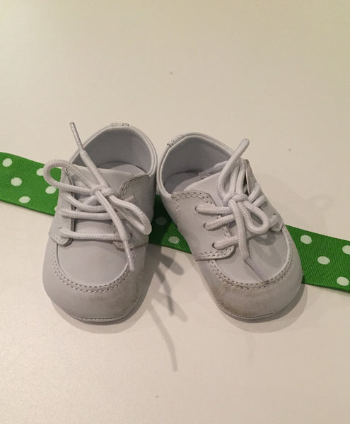 Little Me Crib Shoes