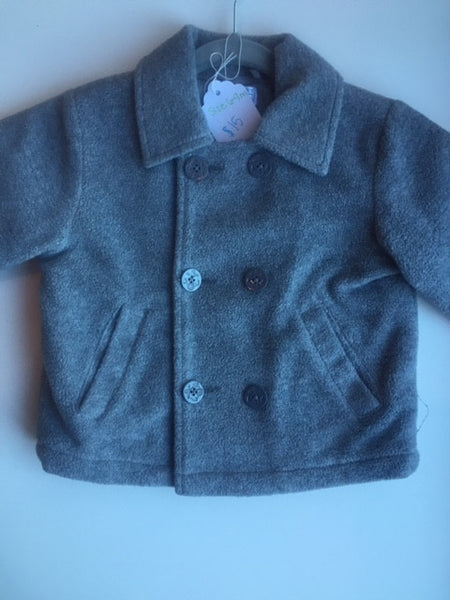 Grey Fleece Coat