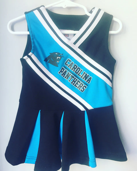 Carolina Panther's Cheerleader Outfit