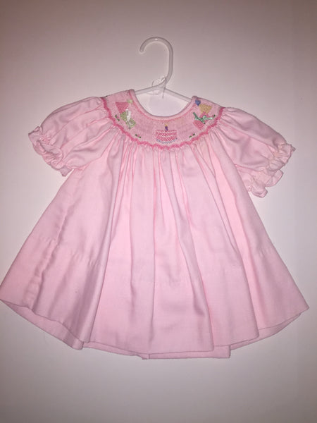 Rosalina Smocked Party Dress