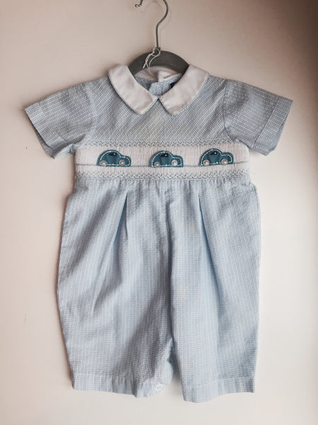 Carriage Boutiqes Smocked Car Shortall