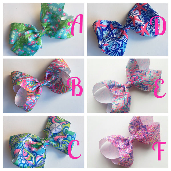 Lilly Pulitzer Hairbows
