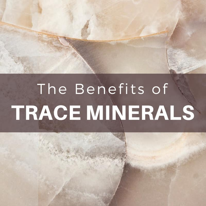 Trace Minerals: The Complete Guide To Why You You Need Trace Minerals